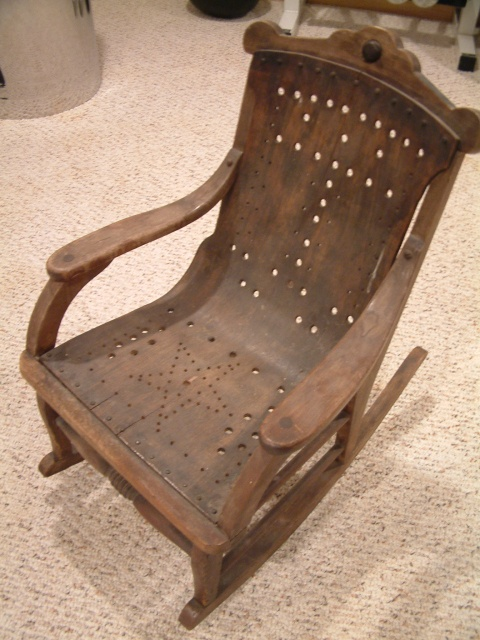 Childs Lawn Chair And Tent Rentals Antique Child Rocking | Furniture