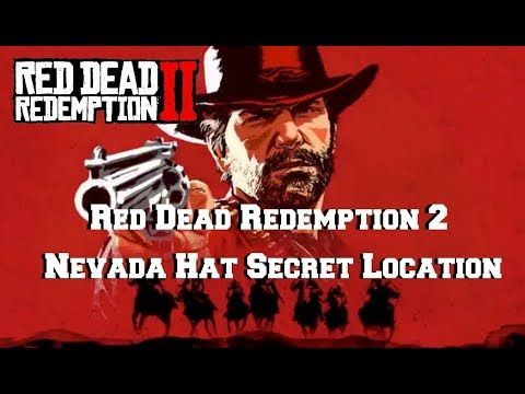 Red Dead Redemption 2 | Nevada Hat | Secret Location | Red