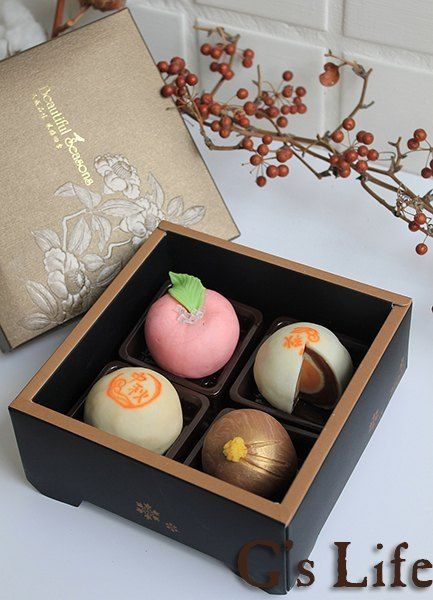 Soaps in shape of Mid-Autumn Festival moon cakes
