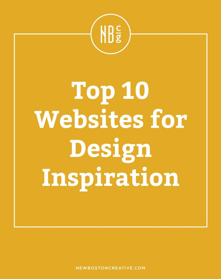 Top 10 Websites for Design Inspiration