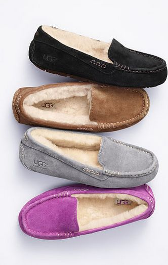 With Ontario cold winters who doesn't want these cozy slippers on their feet! I don't need genuine UGG slippers, but these look soft & pretty. For Christmas. For me.