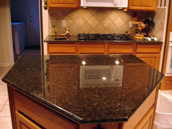 Kitchens Countertops, Cabinets Ideas, Honey Oak Cabinets, Granite
