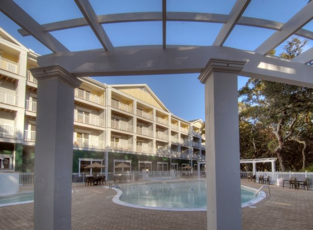 At The Hampton Inn  Suites on Jekyll Island you can enjoy bike rentals, a complimentary shuttle service to points of interest on Jekyll Island, a boardwalk leading to the beach or a conversation by the fire pit! www.GoldenIsles.com