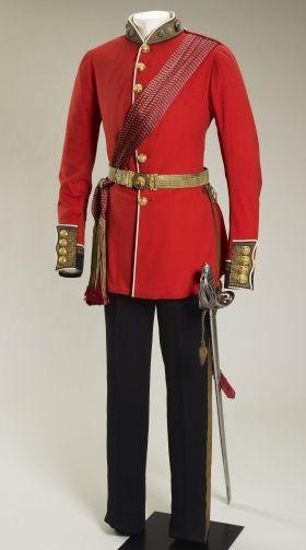 Grenadier Guards uniform. 1853-1861