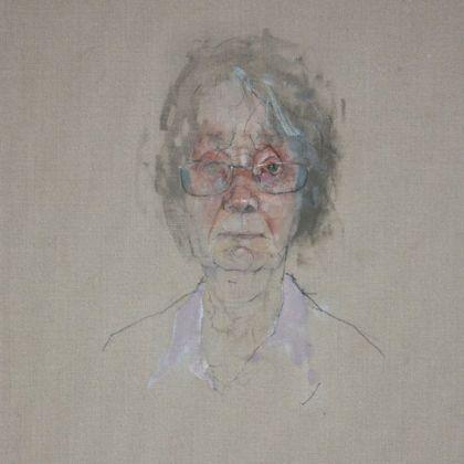 Nathan Ford Brenda, Oil on canvas 28 x 20 cm