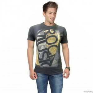 Stay cool and comfy while looking your trendy best in this graphic T-shirt by Droom Fashion. Buy this cool Tshirt and team it up with your favourite pair of jeans and sneakers while hanging out with friends.