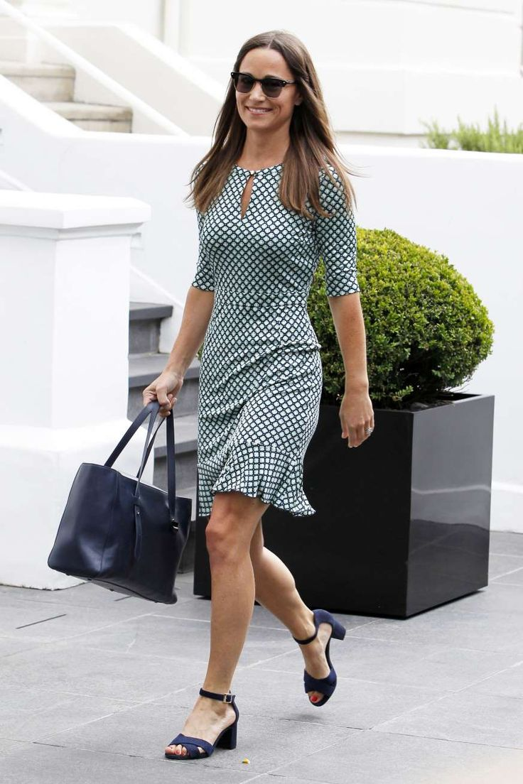 Pippa Middleton posing for a picture: Pippa Middleton is seen out and about in London on July 21, 2016.