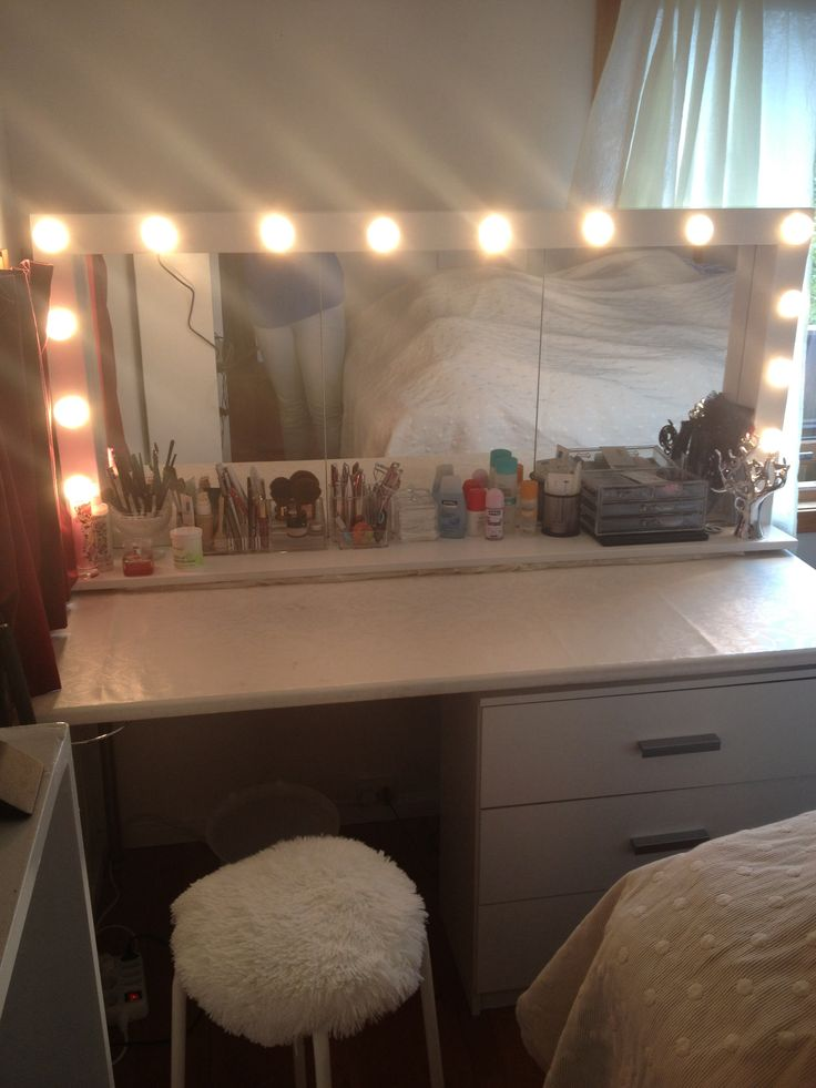 Diy Hollywood Mirror Diy Make It Pinterest