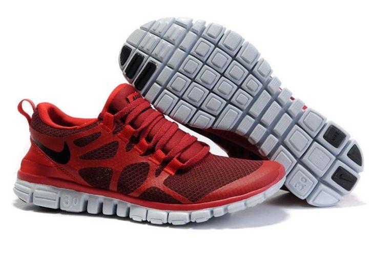 8Veeo Nike Free 3.0 V3 Men's Running Shoes Obsidian/Royal-Team Orange