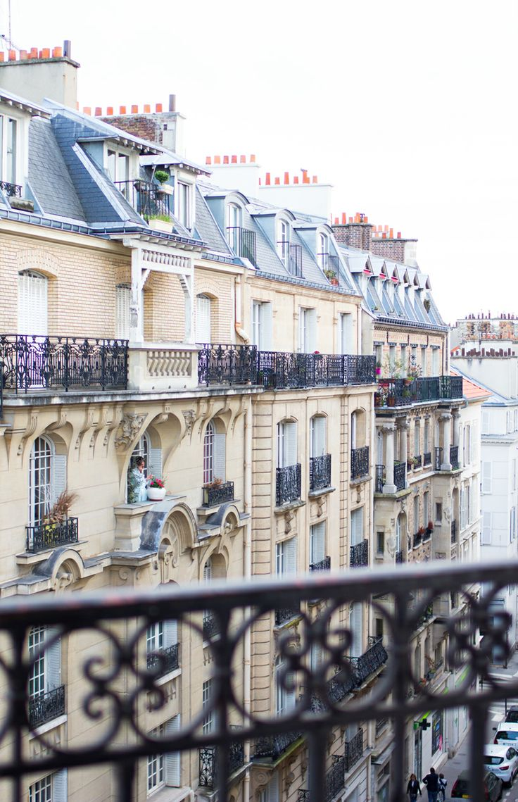 A view of the 17th from the lovely blog Rue Rodier