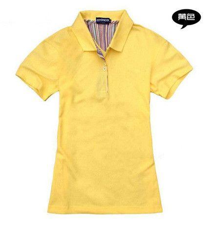 Brand Clothing 2016 Summer Women Polo Shirt Female Short Sleeve Lapel Pure Color Casual Shirts Lady Polo JA2187