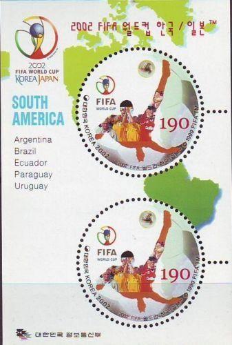 Korea - SC 2082j 2002 FIFA World cup South America SS 2002  | eBay