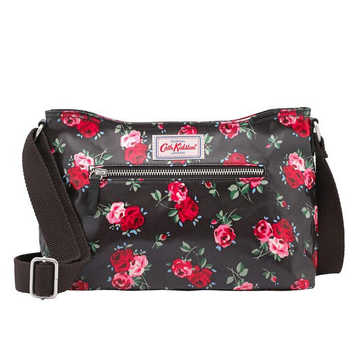 Cranbrook Rose Zipped Cross Body | Cross Body Bags | CathKidston
