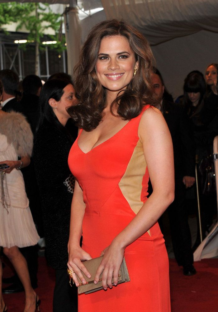 Hayley Atwell at the MET Ball, 2011
