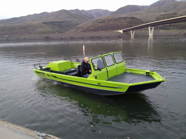 12 best phantom jet boats images on pinterest aluminum for Best river fishing boat