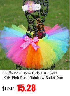 New Children Kids Girls Tutu Skirt Baby Tutus Cute Fluffy Tulle Skirt 9 Color Pettiskirt Princess Girls Mini Ballet Skirts 1-10Y
