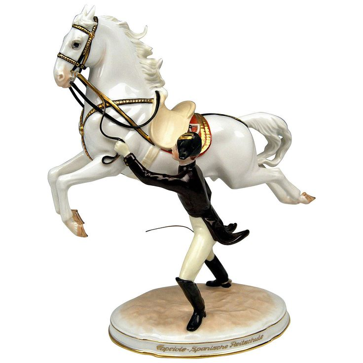 "Vienna Augarten ""Capriole"" Spanish Horse Riding School Figurine, circa 1965 
