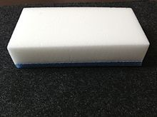 Melamine foam - Wikipedia, the free encyclopedia