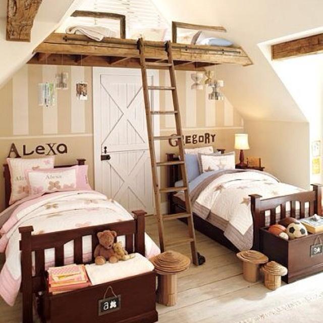 Cute Kids Room Idea.