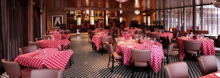 Frankie Dettori`s and celebrity chef Marco Pierre Whites Restaurant