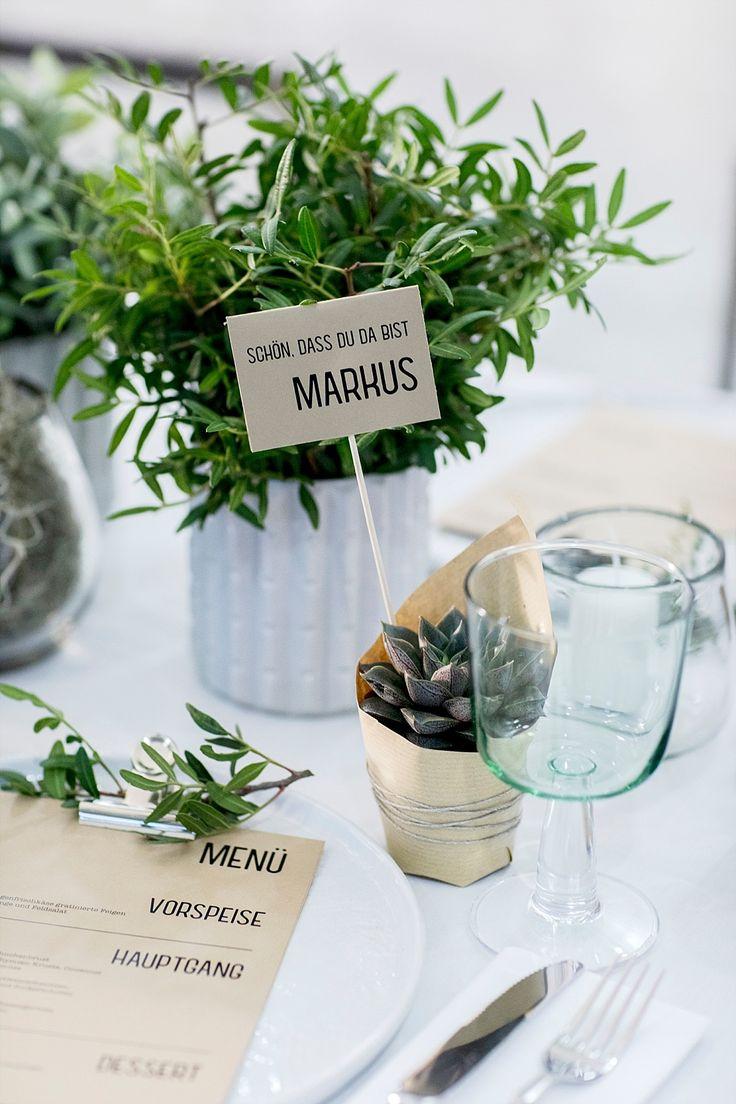 DIY Gastgeschenke für Urban Greenery Tischdekoration Hochzeit Greenery Gastgeschenke  ~ 01163735_Sukkulenten Gastgeschenk Hochzeit