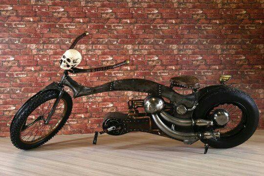 Steampunk bike