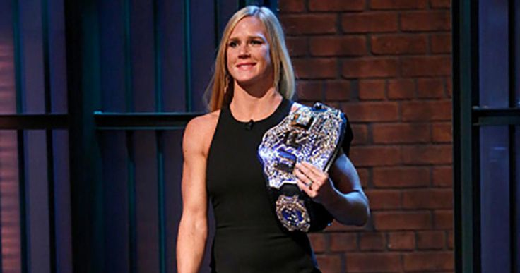Holly Holm appreciates her newfound love and support from fans. But now she's ready to get back to work and prove she deserves it all against Miesha Tate at UFC 196