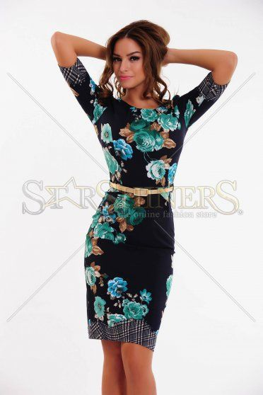 Rochie LaDonna Early Autumn DarkBlue