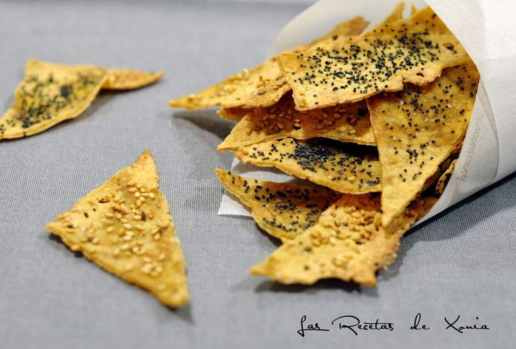 INGREDIENTES        Tofu  Semillas de sésamo y/o amapola  Sal       PREPARACIÓN      La receta que os traigo hoy no es mía sino de Est...