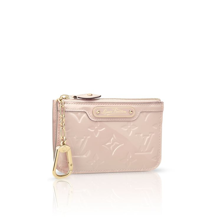 Louis Vuitton Key Pouch (Rose Angelique-M90079)