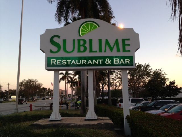 Sublime Restaurant, Fort Lauderdale, Florida