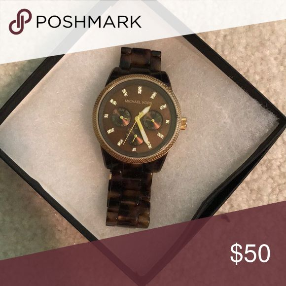 Michael Kors Watch Michael Kors Tortoise Watch Michael Kors Accessories Watches