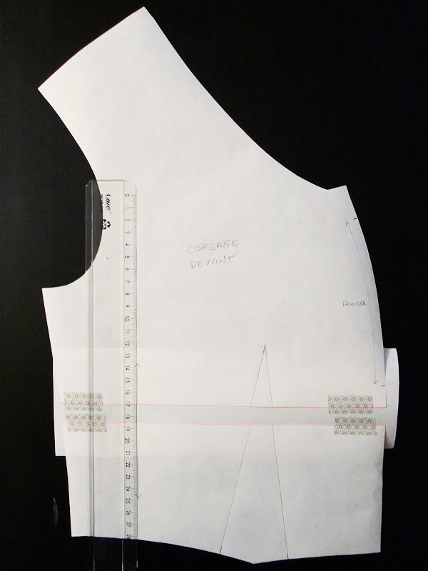 #Sureau Sew-Along# Allonger ou raccourcir le corsage