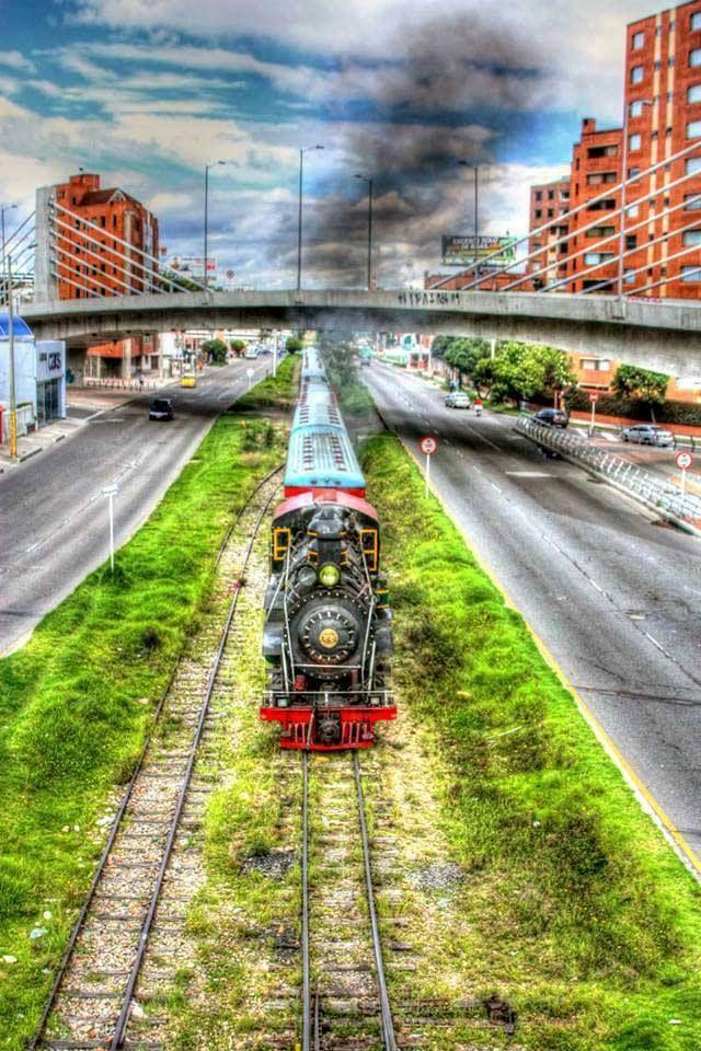 Colombia - Tren de la sabana, Bogotá, Cundinamarca.