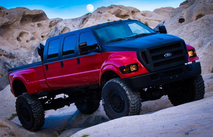 "The ""Diesel Bros"" Ford F-650 Super Truck. https://dieselsellerz.com/"
