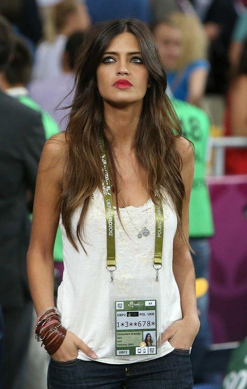 Sara Carbonero.... yeah i have a girl crush