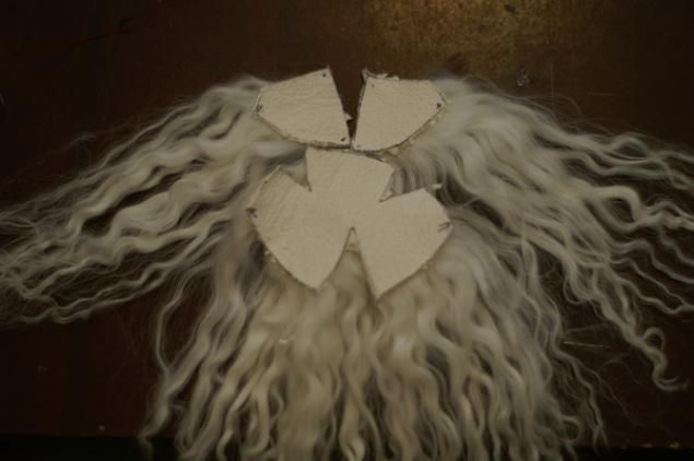 how to make a doll wig with pattern