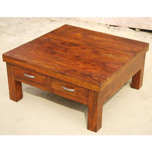 Large Coffee Tables With Storage: Large Square Coffee Table With Storage