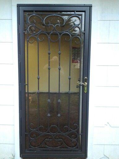 Bella Grisham steel securty door. & 164 best Grisham Steel Security Doors / Bars images on Pinterest ...
