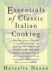 """Though I love many of Mario Batali's books and use them often, my go-to book is one that Mario himself often cites, Marcella Hazan's Essentials of Classic Italian Cooking.   Her roast pork loin braised in milk never fails to produce moans of pleasure from serious eaters any time of the day or night. It's good for any occasion, from Sunday family meal to Saturday night dinner party."""""""