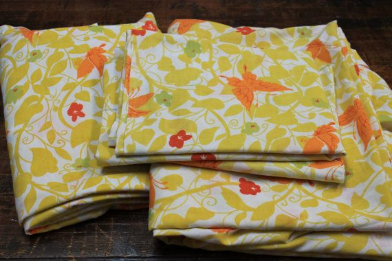 Vintage Bed Sheet Set twin size bed sheet set by tailoredchaos