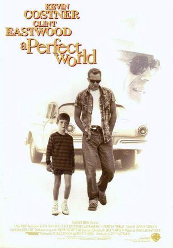 『パーフェクト・ワールド』 A Perfect World (1993) ~ 『Un monde parfait』 La brochure de ce film a été publiée au Japon dans 1993. C'était un événement de la Nouvelle année.
