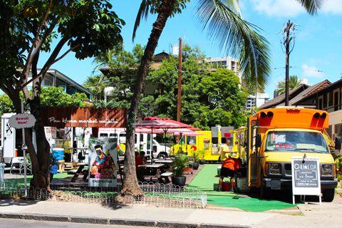 ◆絶対いくべき!! ワイキキにフードトラックが集結?!いろいろ食べれるパウハナ・マーケット・ワイキキ♪|JTBハワイ スタッフブログ