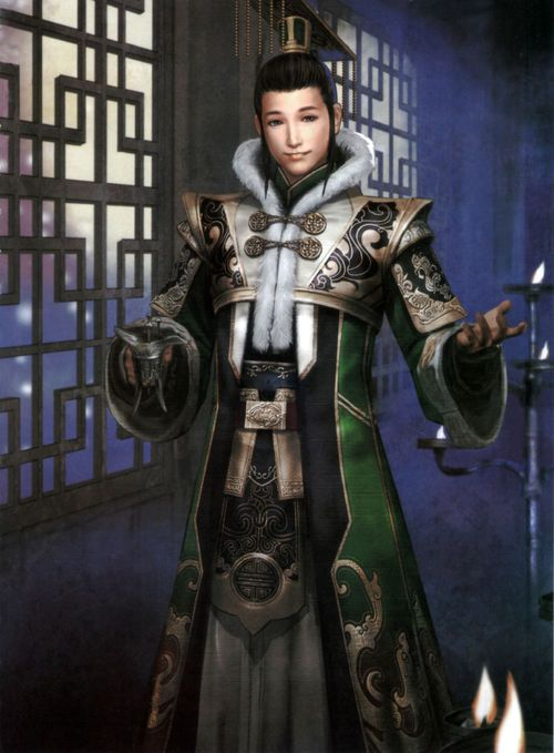Liu Shan (onyomi: Ryū Zen) is Liu Bei's eldest son and successor. Even when named figurehead leader of Shu, Liu Shan isn't known to have done much to help his country prosper. He is infamously known under his childhood name in Romance of the Three Kingdoms, A Dou (阿斗), which is also an idiom for an incompetent person. His two wives are Zhang Fei's daughters. Prior to his playable Dynasty Warriors appearance, he was the infant battlefield item and became a Shu NPC in the fourth title's ...