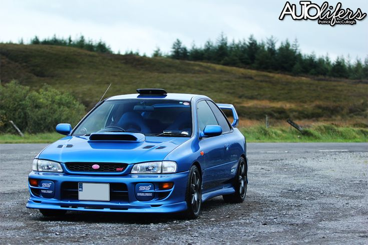 2000 SUBARU IMPREZA WRX STI (GC8G) TYPE R PRODRIVE P1 (1,000 built) - HKS manifold, HKS exhaust system; APEXI Induction Kit, STI Carbon Strut; close-ratio gearbox; DCCD (Driver Center Controlled Differential) w/c means this car didn't opt for ABS (DCCD was removed on ABS cars to make room for the ABS; instead a Limited Slip Differential)