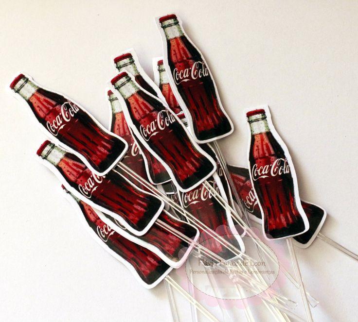 Topper personalizado Coca Cola | Flávia Ponce de Leon ...