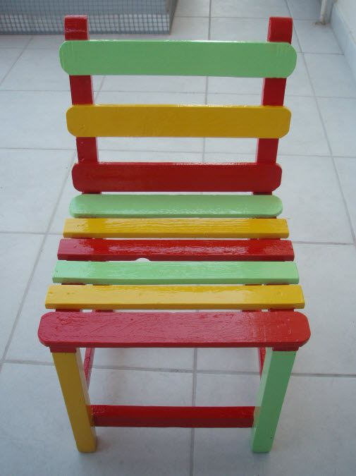 Remake of a child chair: http://stratis-art.blogspot.gr/2014/07/blog-post.html