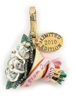 Juicy Couture rose a flower Bouquet Prom Charm