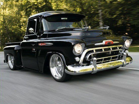 1957 Chevy Pickup. Maintenance of old vehicles: the material for new cogs/casters/gears could be cast polyamide which I (Cast polyamide) can produce