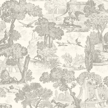 99/15061, Versailles, Charcoal, Cole & Son Wallpapers